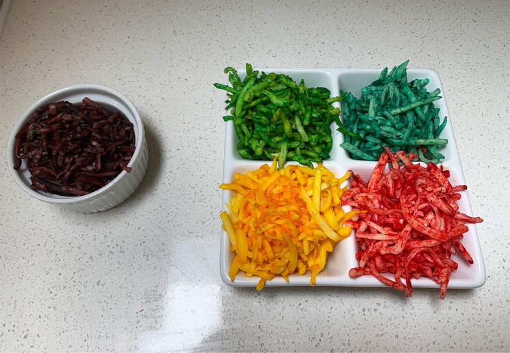 rainbow unicorn pizza ingredients