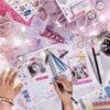 unicorn stationery set for girls