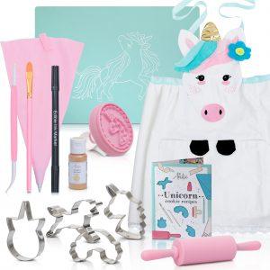 unicorn cookie baking kit