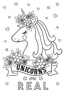 Free unicorn coloring printables_07